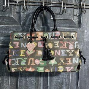 Vtg Dooney & Bourke logo handbag